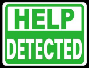 Help Detected